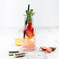 Erdbeer-Minz-Limonade